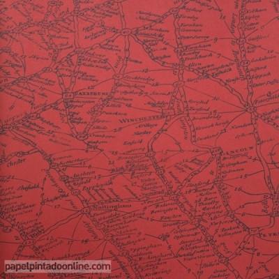 Paper pintat NAVIGATOR TRAVELLER RED