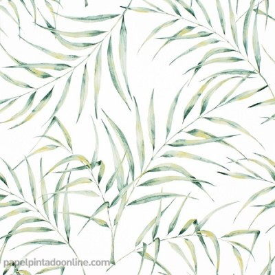 Paper pintat FULLES TROPICALS 088