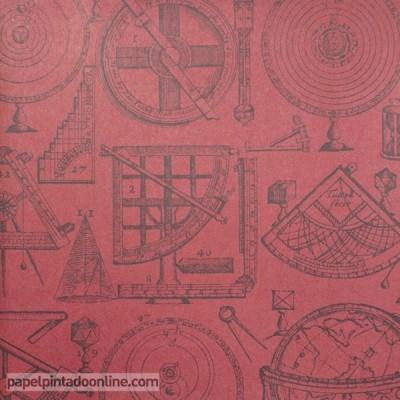 Paper pintat NAVIGATOR NEWTON RED