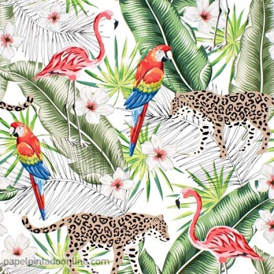 Papel pintado JUNGLE SPIRIT D20191