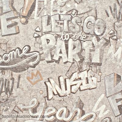 Papel de parede GRAFFITI 403808