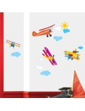STICKER BIPLANES DS-08223