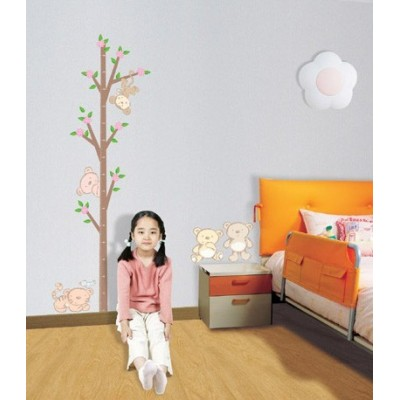 STICKER TEDDY BEAR HEIGHT CHART DK-0031