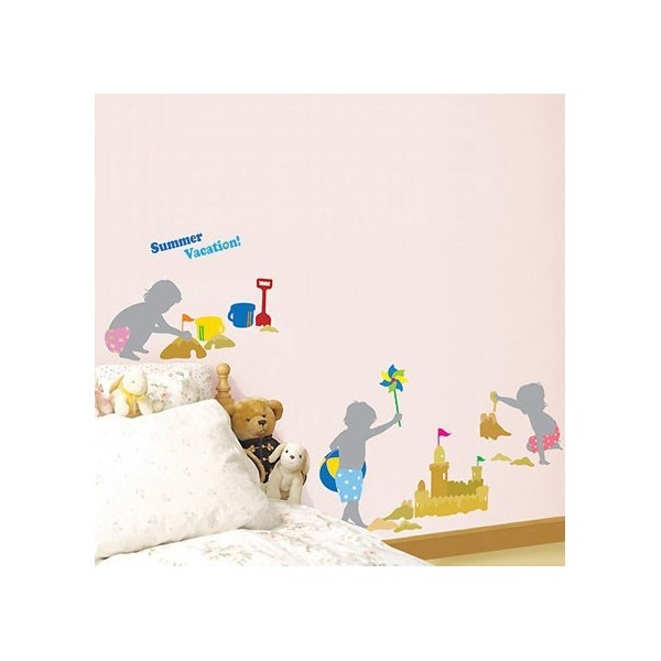 STICKER BEACH SUMMER VACATION DK-0027