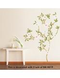 STICKER WHITE FLOWERS DK-0019