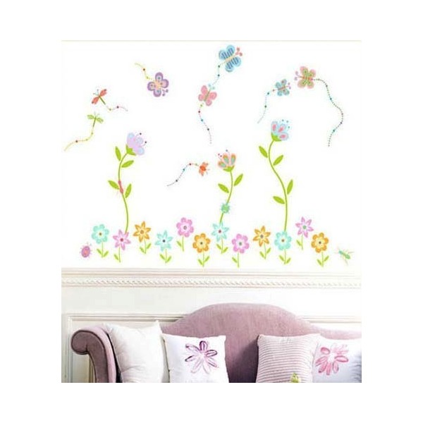 STICKER ENCHANTED FLORAL GARDEN DL-08136