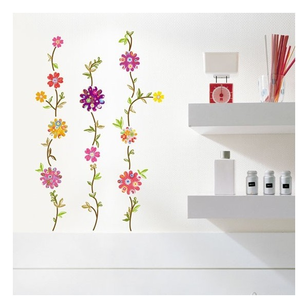 STICKER ENCHANTED FLORAL BRANCH DP-08072