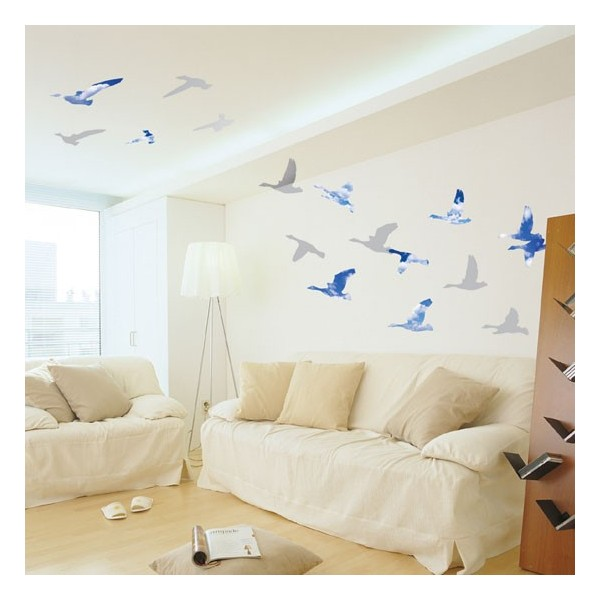 STICKER SEAGULLS IN THE SKY DP-08074