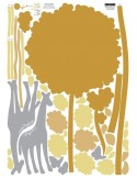 STICKER GIRAFFES IN THE FOREST DP-08166