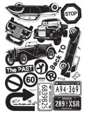 STICKER CLASSIC CAR SERIES DP-08188