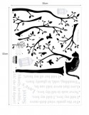 STICKER POEM & TREE DS-08220