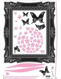 STICKER PINK FLOWER DV-08601
