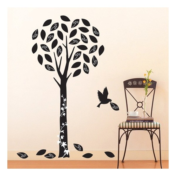 STICKER BLACK TREE DV-08605