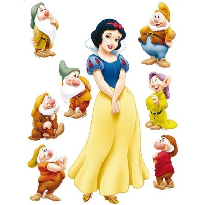 STICKER DISNEY SNOW WHITE DK-869
