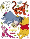 STICKER DISNEY FOR POOH DK-862
