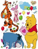 STICKER DISNEY WINNIE AND FRIEND DK-861