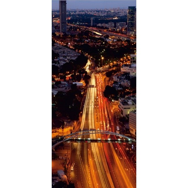 Fotomural NIGHT CITY VIEW FT 0014