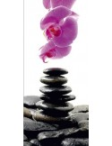 Fotomural STONES AND ORCHID FT-0215
