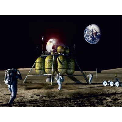 Fotomural MOON LANDING FT-0104