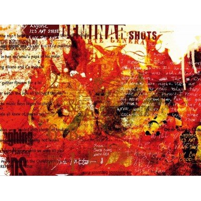 Fotomural A TONGUE OF FIRE FT-0179