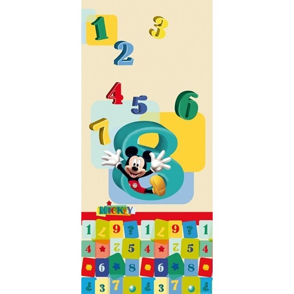 Fotomural MICKEY & NUMBERS FTD-0243