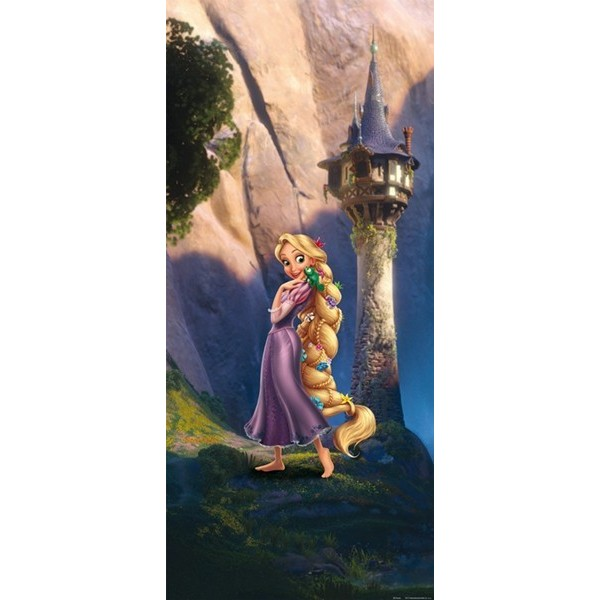 Fotomural RAPUNZEL AND CASTLE FTD-0232