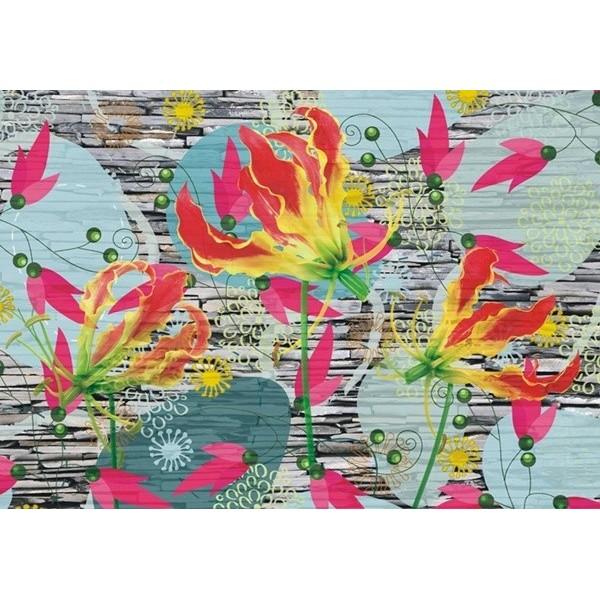 Fotomural FLOWER WALL FT-0320