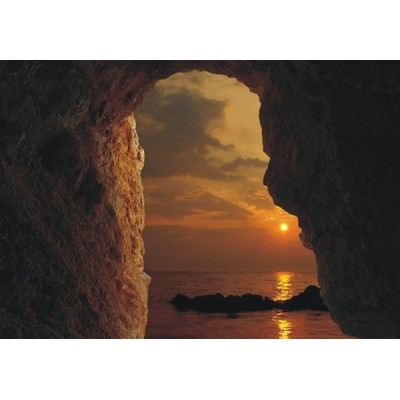 Fotomural SUNSET ON ROCKS FT-0328