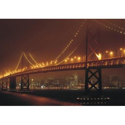 Fotomural LIGTHED BRIDGE FT-0344