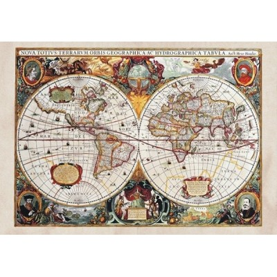 Fotomural OLD WORLD MAP FT-0350