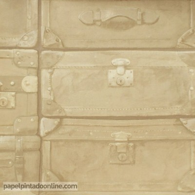 Papel pintado ENGINEER LUGGAGE LU03 VELLUM