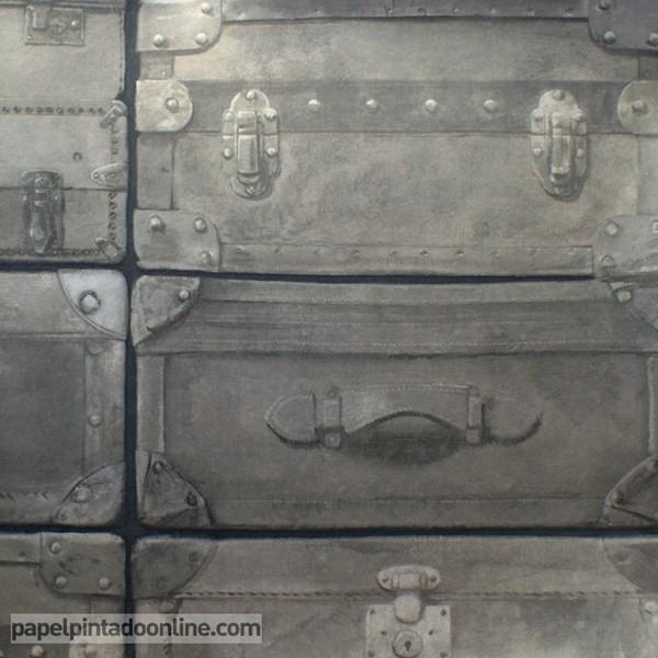 Papel pintado NAVIGATOR ETON CHARCOAL