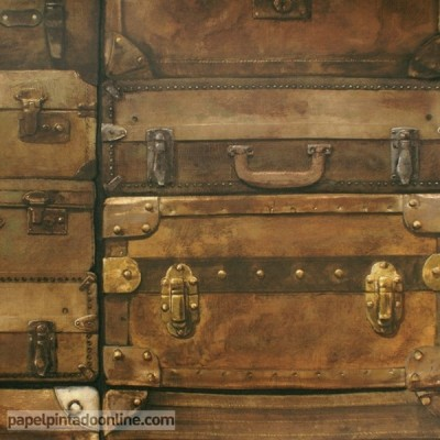 Papel pintado ENGINEER LUGGAGE LU02 LEATHER