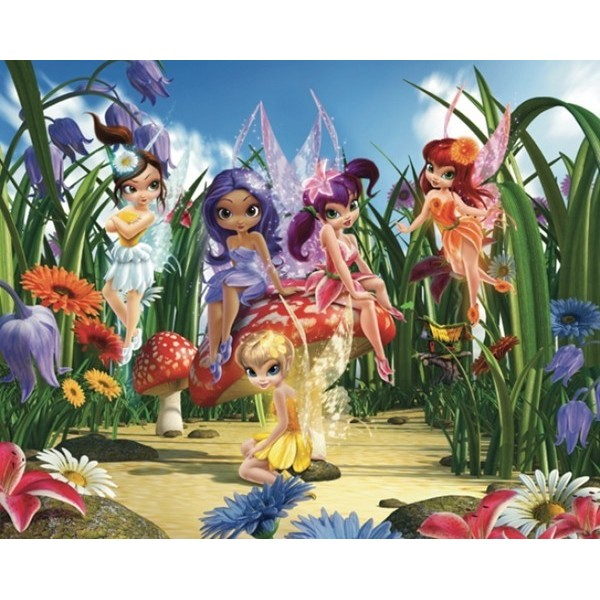 Fotomural Infantil MAGICAL FAIRIES - NEW