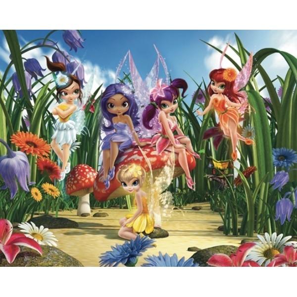 Fotomural Infantil MAGICAL FAIRIES - NEW