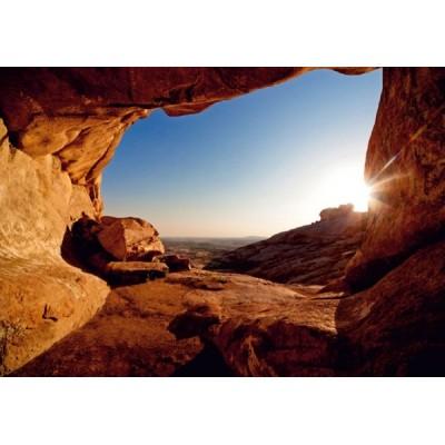 Fotomural SUNRISE IN THE ROCKS