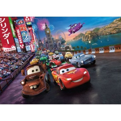 Fotomural Disney CARS RACE 4-401