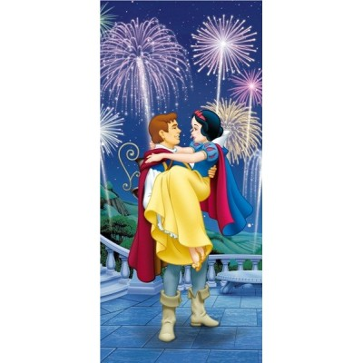 Fotomural SNOW WHITE AND PRINCE FTD-0275
