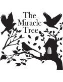 STICKER MIRACLE TREE BLACK DG-08801
