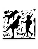 STICKER ENJOY FISHING DG-08825