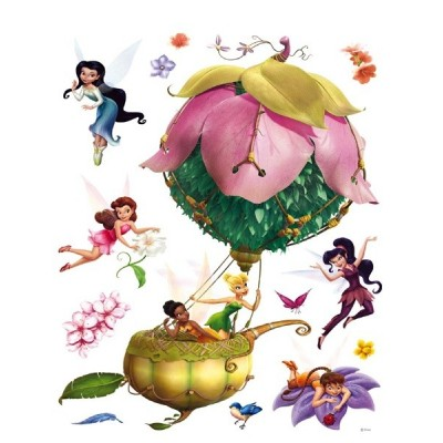 STICKER DISNEY FAIRIES IN A WONDERFULL BALLON DK-884