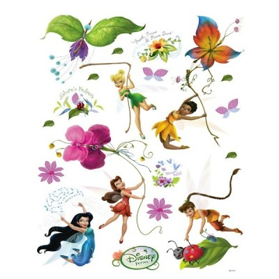 STICKER DISNEY FAIRIES & FLOWER DK-883