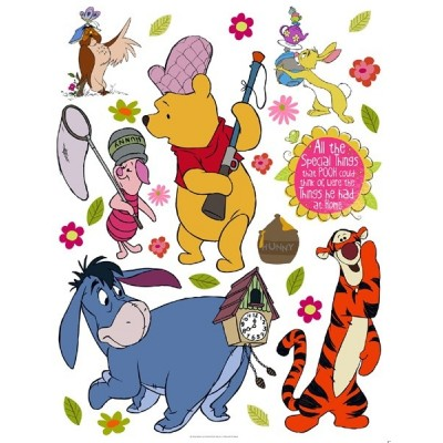 STICKER DISNEY SPECIAL THINGS& POOH DK-881