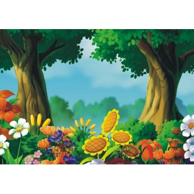 Fotomural infantil FOREST FT-0146