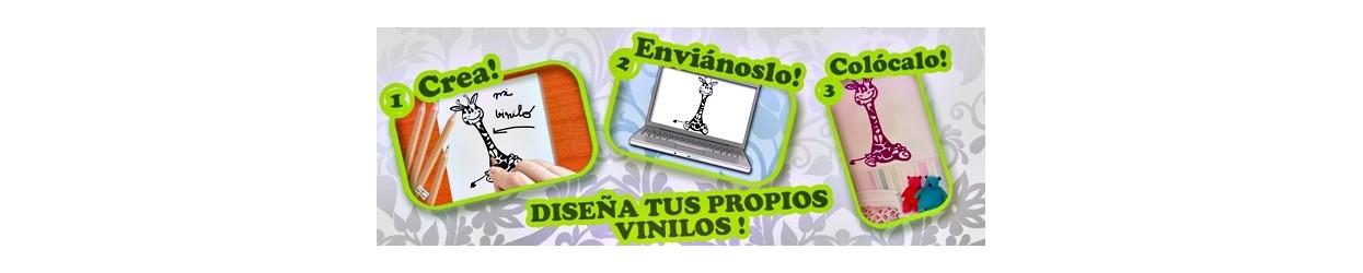 Vinilos personalizados online