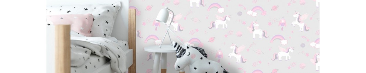 Papel pintado infantil Over the Rainbow de Holden