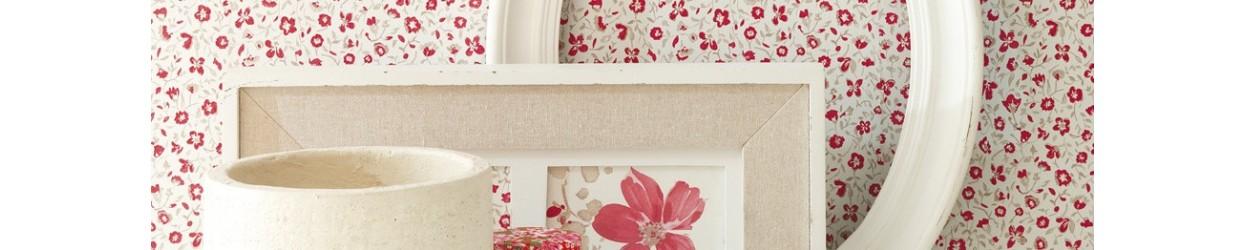 Papel de parede flores pequenas
