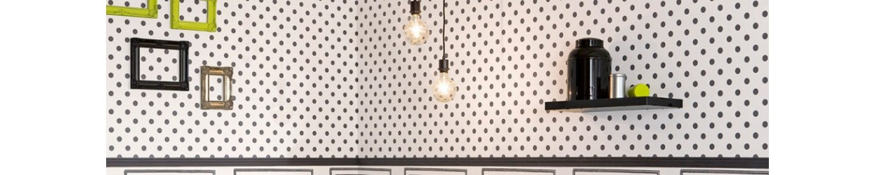 Papel de parede bolas e círculos
