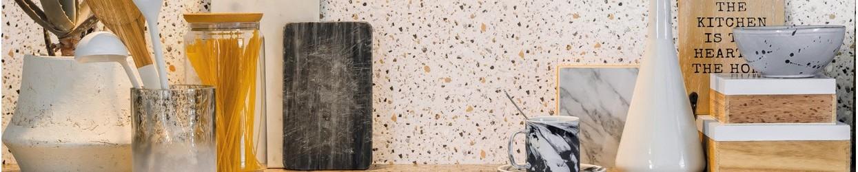 Papel de parede imitando Mármore-Granito
