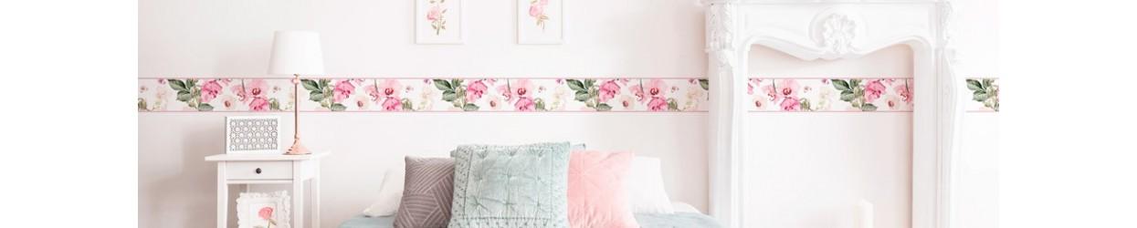 Edició limitada en oferta de sanefes de paper pintat per a decoració de parets